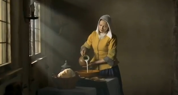 La lechera nestl vermeer recurso educativo 39344 - La lechera de vermeer ...