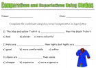 Comparatives and superlatives using clothes | Recurso educativo 39839