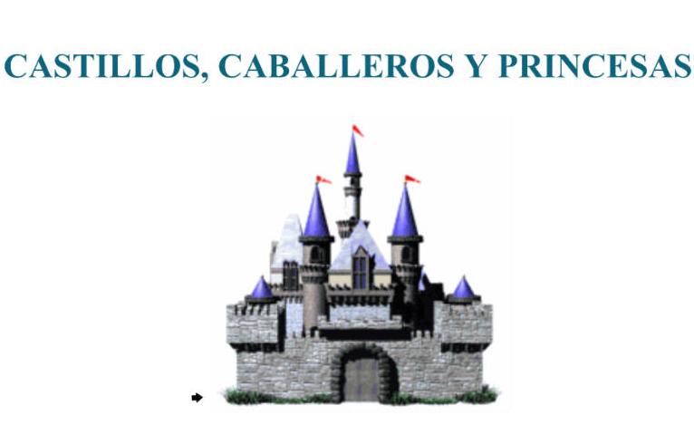 Castillos caballeros y princesas recurso educativo - Caballeros y princesas literas ...