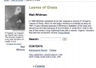 Leaves of Grass by Walt Whitman | Recurso educativo 42411