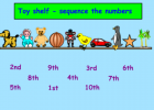 Ordinal numbers to ten | Recurso educativo 46645