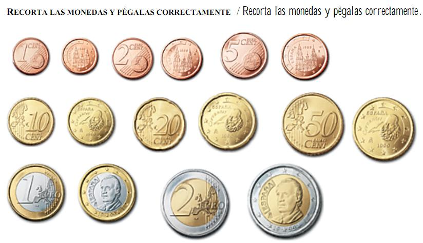 Ficha Monedas Recurso Educativo 47893 Tiching