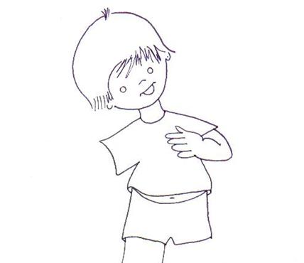 Ficha: recortar, armar y pegar las figuras del cuerpo humano - Tiching