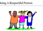 Webquest: Being a respectful person | Recurso educativo 51644