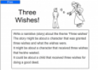 Three wishes | Recurso educativo 54426