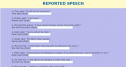 Reported speech: Statements | Recurso educativo 54526