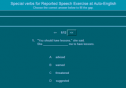 Special verbs for reported speech | Recurso educativo 55088