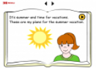 My summer vacation | Recurso educativo 18405