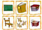 School Objects Flashcards | Recurso educativo 19308