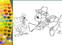 ¡A Colorear!: Peregrino y pavo | Recurso educativo 28316