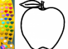 ¡A Colorear Frutas!: Manzana | Recurso educativo 28713