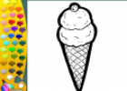 ¡A Colorear!: Helado | Recurso educativo 28938