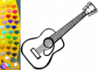 ¡A Colorear!: Guitarra española | Recurso educativo 28953