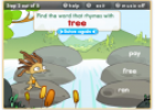 Rhyming words | Recurso educativo 6709