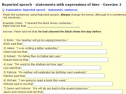 Reported speech: Statements with expressions of time | Recurso educativo 63701