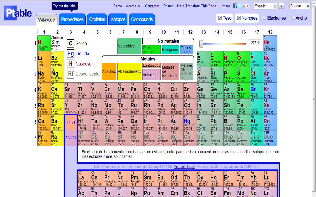 Ptable110 s chemical for windows 10 free download on windows 10 tabla periodica completa con nombres urtaz Images
