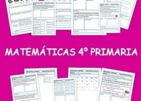 Ejercicios para aprender y repasar Matemáticas en Cuarto de Primaria ...