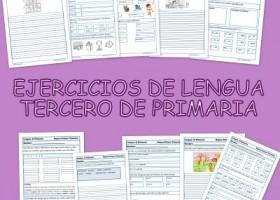 Ejercicios de lengua para Tercero de Primaria - Educapeques ...