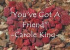 Ejercicio de inglés con la canción You've Got A Friend de Carole King | Recurso educativo 122751