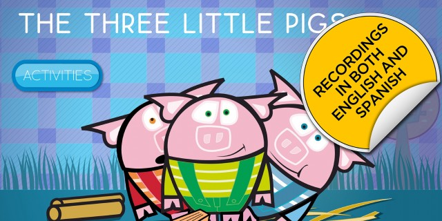 Los Tres Cerditos / The Three Little Pigs | Recurso educativo 402847