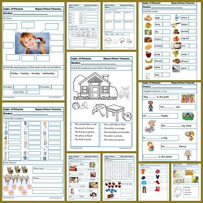 Fichas de inglés para segundo de primaria | Recurso ...