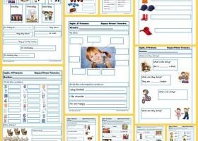 Fichas de inglés para Tercero de primaria | Recurso educativo 403748 ...