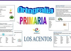 20 Fichas de ortografía para Primaria. Los acentos | Recurso ...