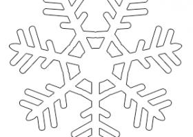 Copos De Nieve Para Colorear Recurso Educativo 723825 Tiching
