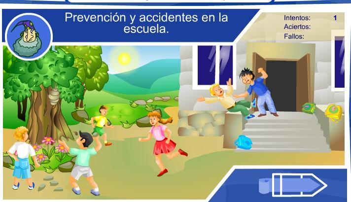 Prevención y primeros auxilios en la escuela | Recurso educativo