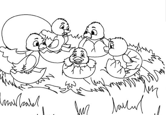 Colorear cuentos: El Patito Feo | Recurso educativo 39956 - Tiching