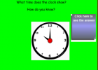 Telling time | Recurso educativo 48036