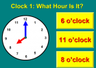 Telling the time | Recurso educativo 48287