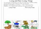 Living and not-living things | Recurso educativo 24107